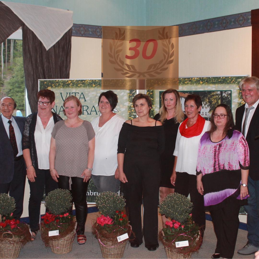 30 jähriges Jubiläum der Vita Natura Klinik